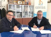 Firma de convenio con la Agrupación de Cofradías