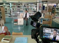 Grabación en la Biblioteca Ricardo Molina