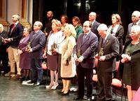 Homenajeados con los premios Día de Andalucía