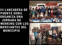 La III Lanzadera de Puente Genil organiza una jornada de networking con los comerciantes del municipio