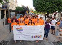 Marcha a favor de los derechos LGTBI y contra la homofobia