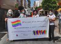 Pancarta del 28 de junio
