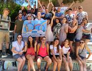 Participantes en el intercambio juvenil europeo