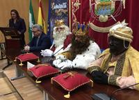 Recepción SSMM Los Reyes Magos