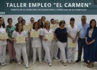 Clausura taller de empleo El Carmen