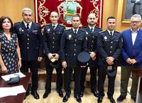 Toma de posesión de los nuevos policías