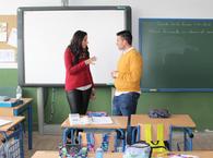 El concejal de Educación visita las obras de mejora realizadas en el Colegio Castillo Anzur