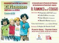 flamenco en el colegio cartel