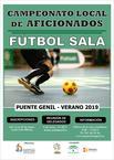 Campeonato local de aficionados de Fútbol Sala