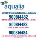 Teléfonos aqualia