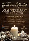 XXVII Concierto de Navidad Coral Miguel Gant