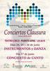 """Conciertos clausura Escuela Municipal de Música y Danza """"Maestro Tomás Ureña"""""""